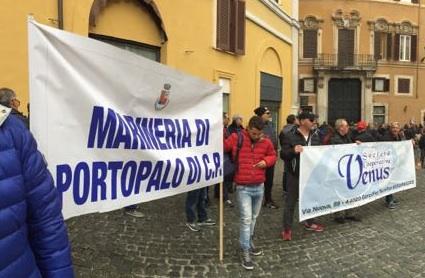 Protesta dei pescatori a Roma, c'era anche una delegazione di Portopalo