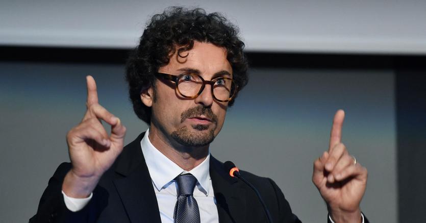 """Porti, Toninelli: """"Autorità dello Stretto è vantaggio per la Calabria"""""""