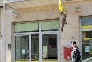 Aci Sant'Antonio, tentano di rapinare le Poste di Lavinaio: fermati due banditi