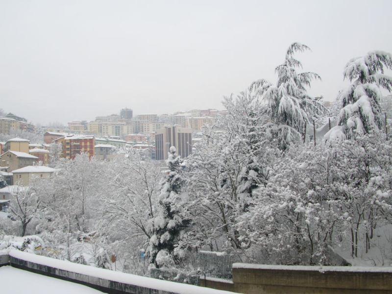 Maltempo: neve in Basilicata, disagi al traffico nel Potentino