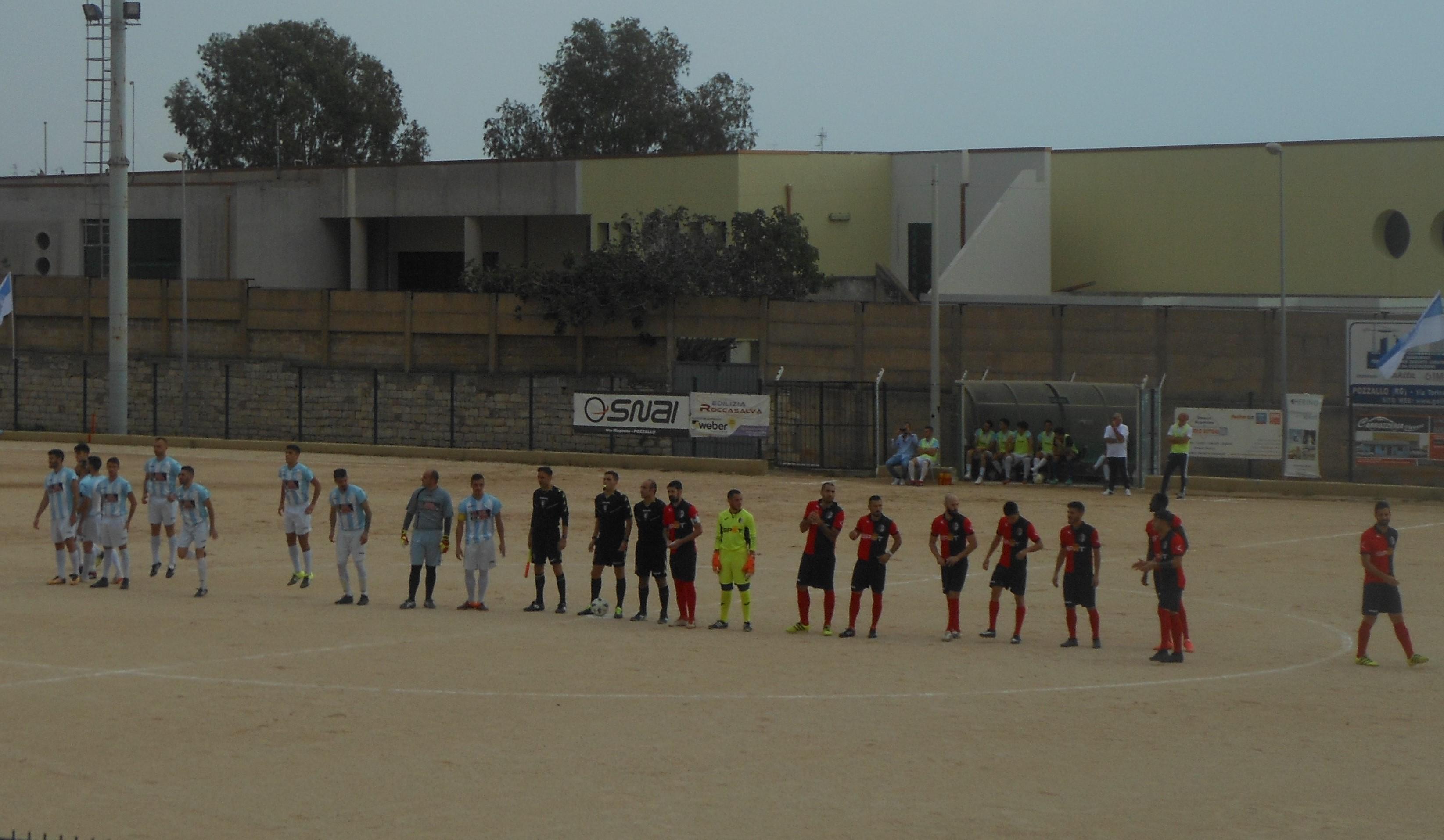 Calcio, Promozione: il Pozzallo si aggiudica il derby col Modica ( 1 - 0 ), rossoblù contestati