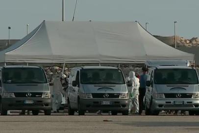 A Pozzallo le 29 salme dei migranti, ma non ci sono posti per la sepoltura