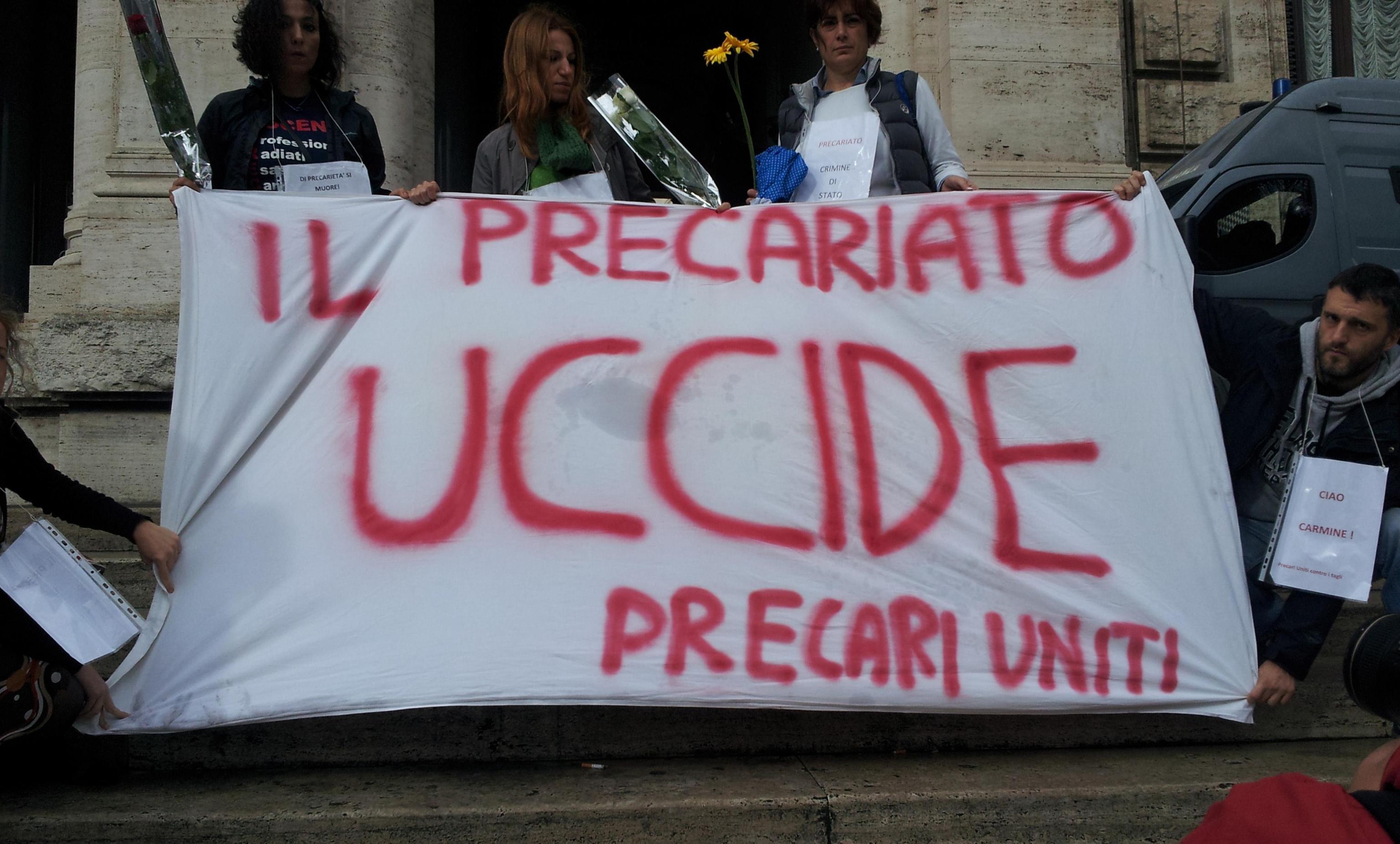 """Comune Palermo: sciopero dei precari, """"Orlando ci stabilizzi"""""""