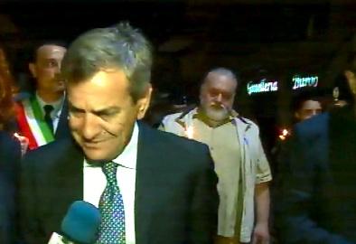 """Il prefetto di Siracusa alla fiaccolata di Solarino: """"Invito ai cittadini a reagire"""""""