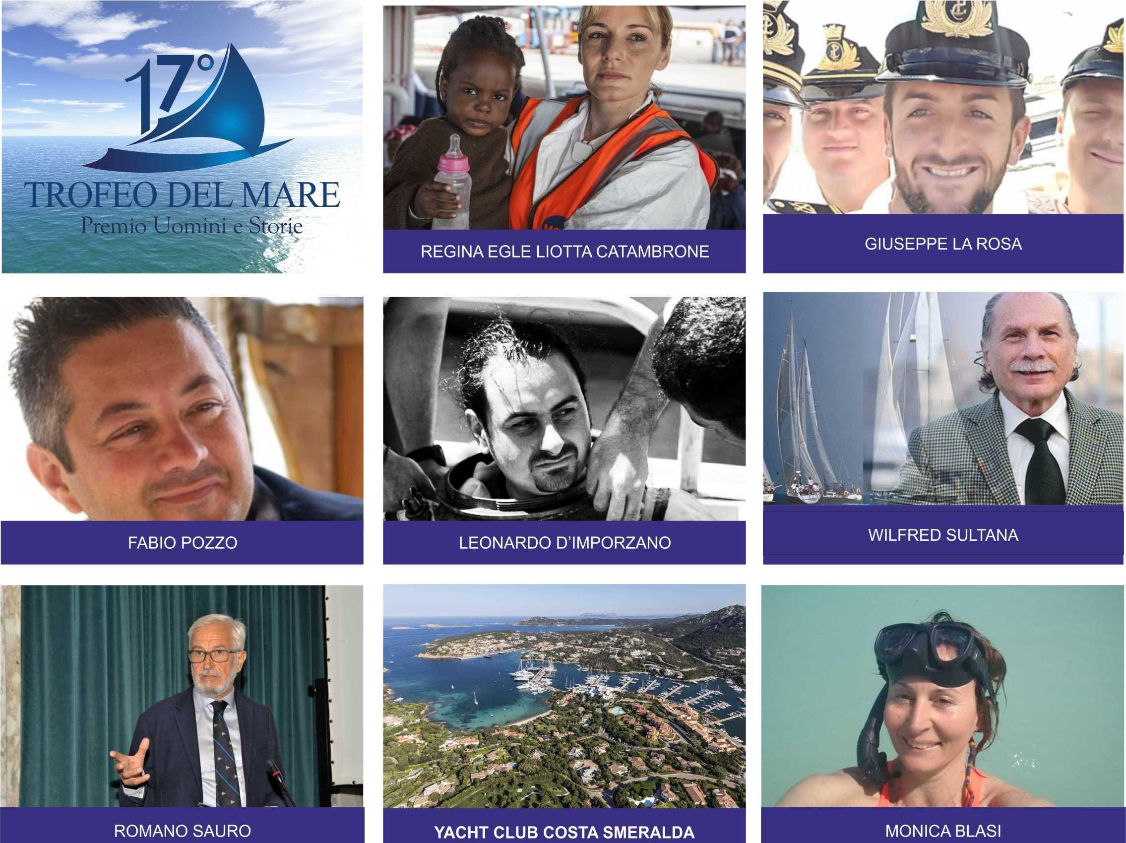 Pozzallo, Trofeo del mare 2017: resi noti i nomi degli otto premiati