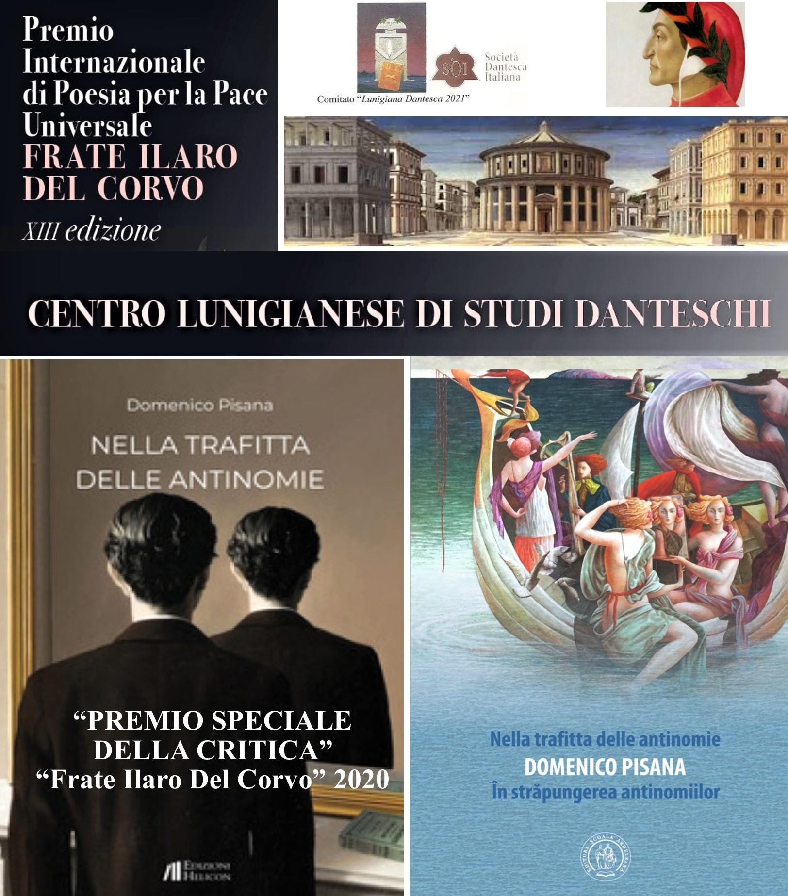 Dal Centro Studi Lunigiana Premio della critica al modicano Domenico Pisana