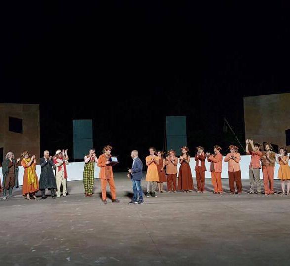 Siracusa, all'attore Gabriele Portoghese il Premio Stampa Teatro