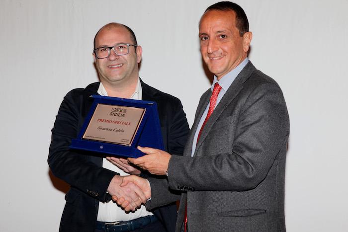 Stampa sportiva, premiato a Petralia Sottana il Siracusa Calcio