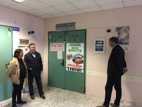 Continua il presidio all'ospedale  di Casarano:
