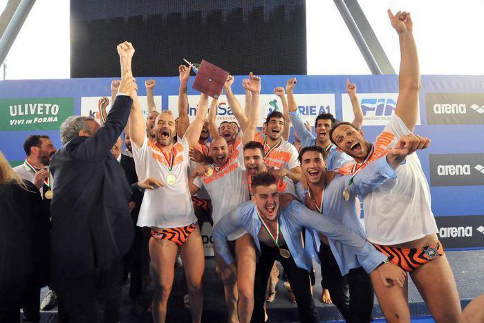Pallanuoto: Pro Recco campione d'Italia