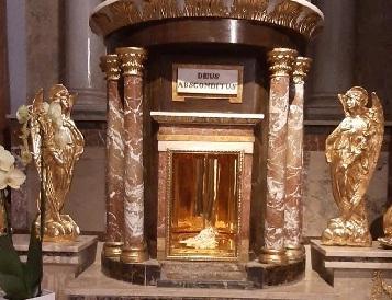 Trafugato tabernacolo al San Sepolcro di Bagheria