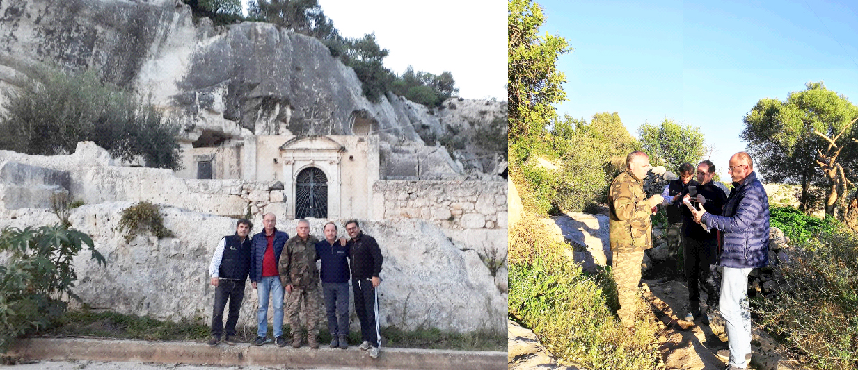 Eremo di Croce Santa a Rosolini, un progetto contro il rischio idrogeologico