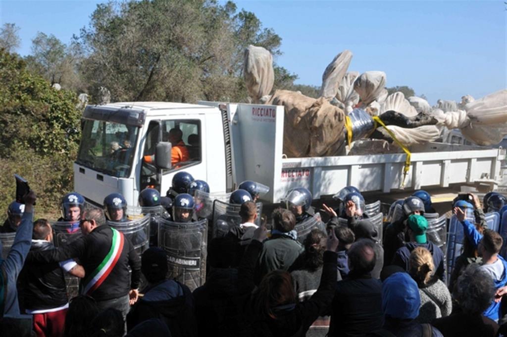 Tap: polizia contro dimostranti, inchiesta della procura di Lecce