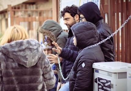 """""""Noi studenti di serie B"""", disabili s'incatenano a Palermo"""