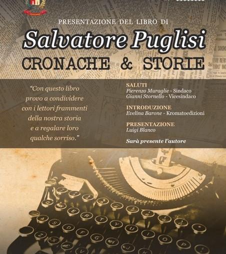 """Ispica, presentazione di """"Cronache & Storie"""" del giornalista Salvatore Puglisi"""