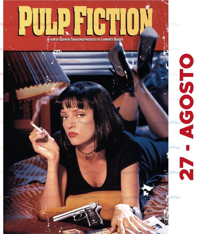 Marina di Modica, il film Pulp Fiction chiude le proiezioni del Drive In