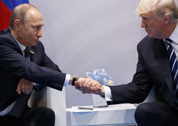 Primo incontro Trump - Putin: accordo per tregua in Siria