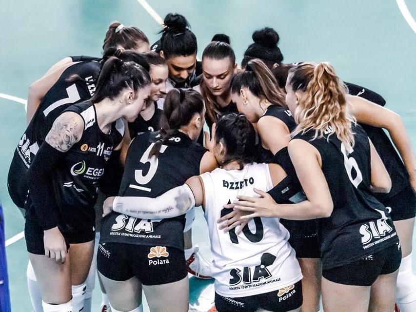Volley, B1 femminile: la capolista Cerignola espugna il PalaRizza e batte in tre set la Pvt Modica