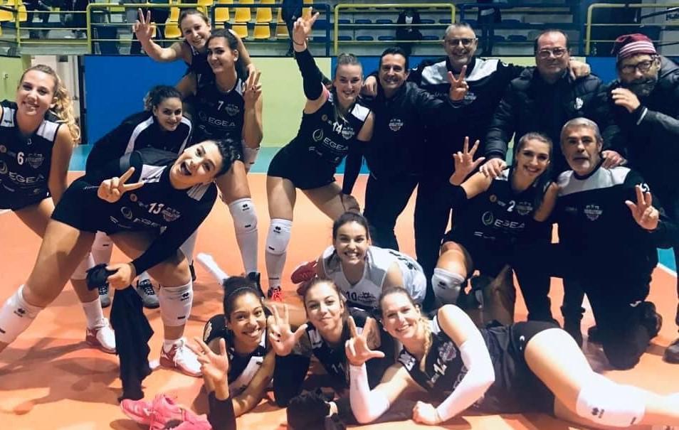 Pallavolo, B1 femminile: la Pvt Modica espugna il parquet dell'Assistec Sant'Elia in 4 set