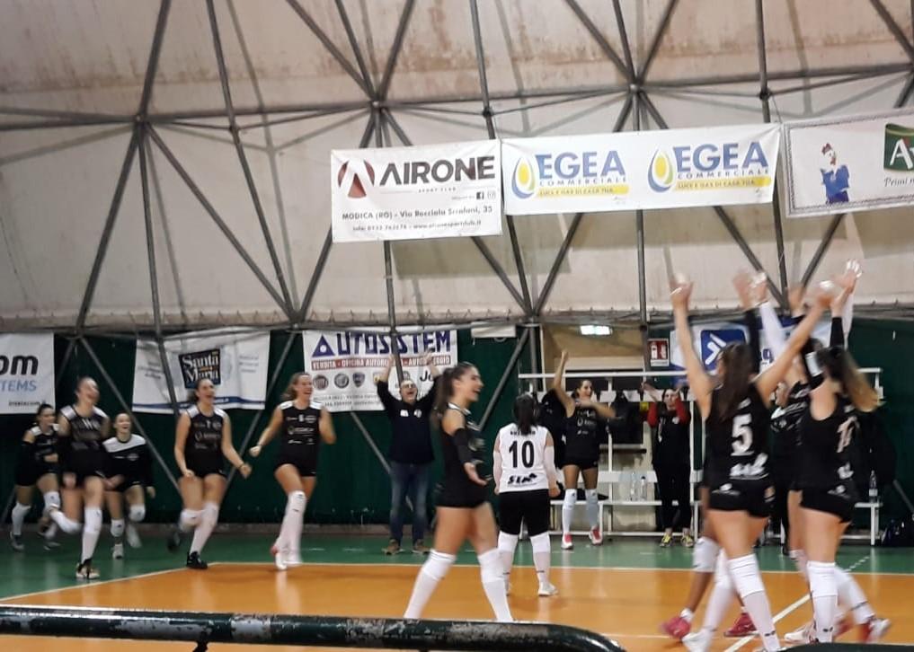 Pallavolo, B1 femminile: la Pvt Modica batte il Palmi ( 3 a 0 ) e ritrova fiducia nelle proprie forze