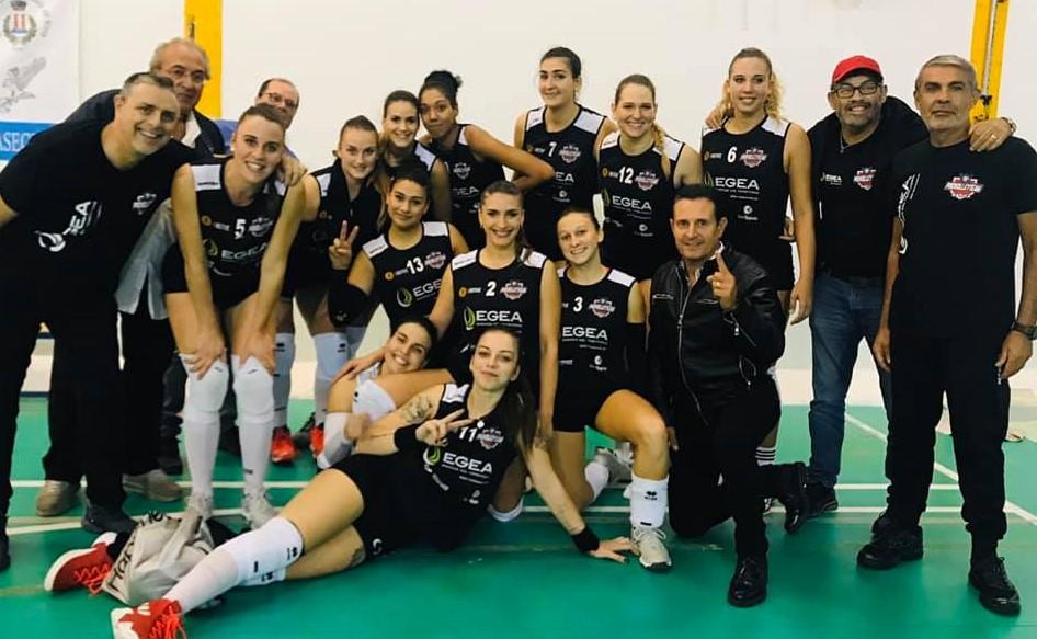 Pallavolo, B1 donne: la Pvt Modica si arrende solo al tie break a Santa Teresa Riva