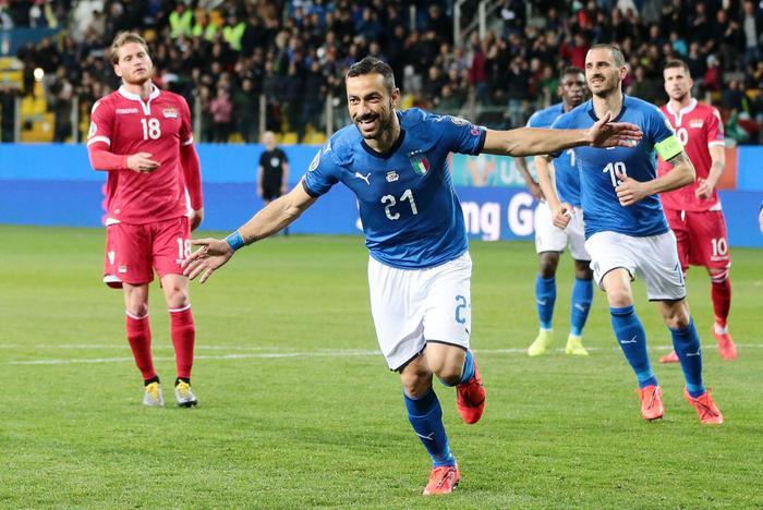 Euro 2020, allenamento degli azzurri col Liechtenstein: è cappotto ( 6 - 0 )