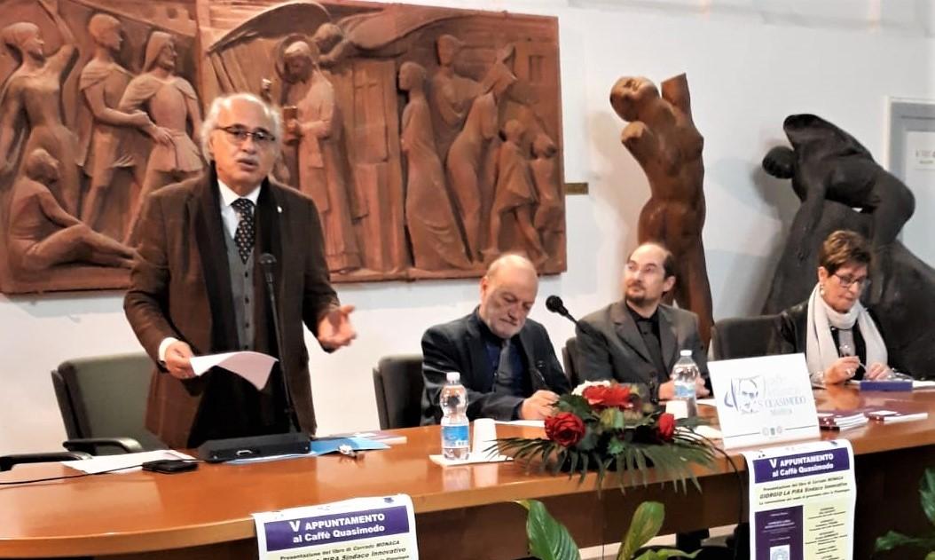 Modica,  presentato il libro di Corrado Monaca su Giorgio La Pira