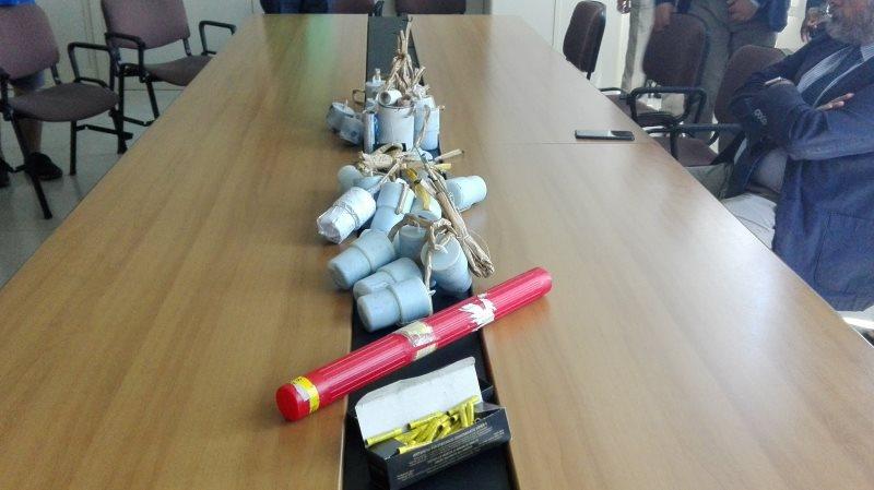 Fabbrica di ordigni in casa di un incensurato a Palermo: arrestato