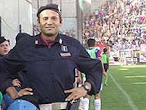 Anche il Catania Calcio rende omaggio all'ispettore Raciti ucciso 10 anni fa allo stadio