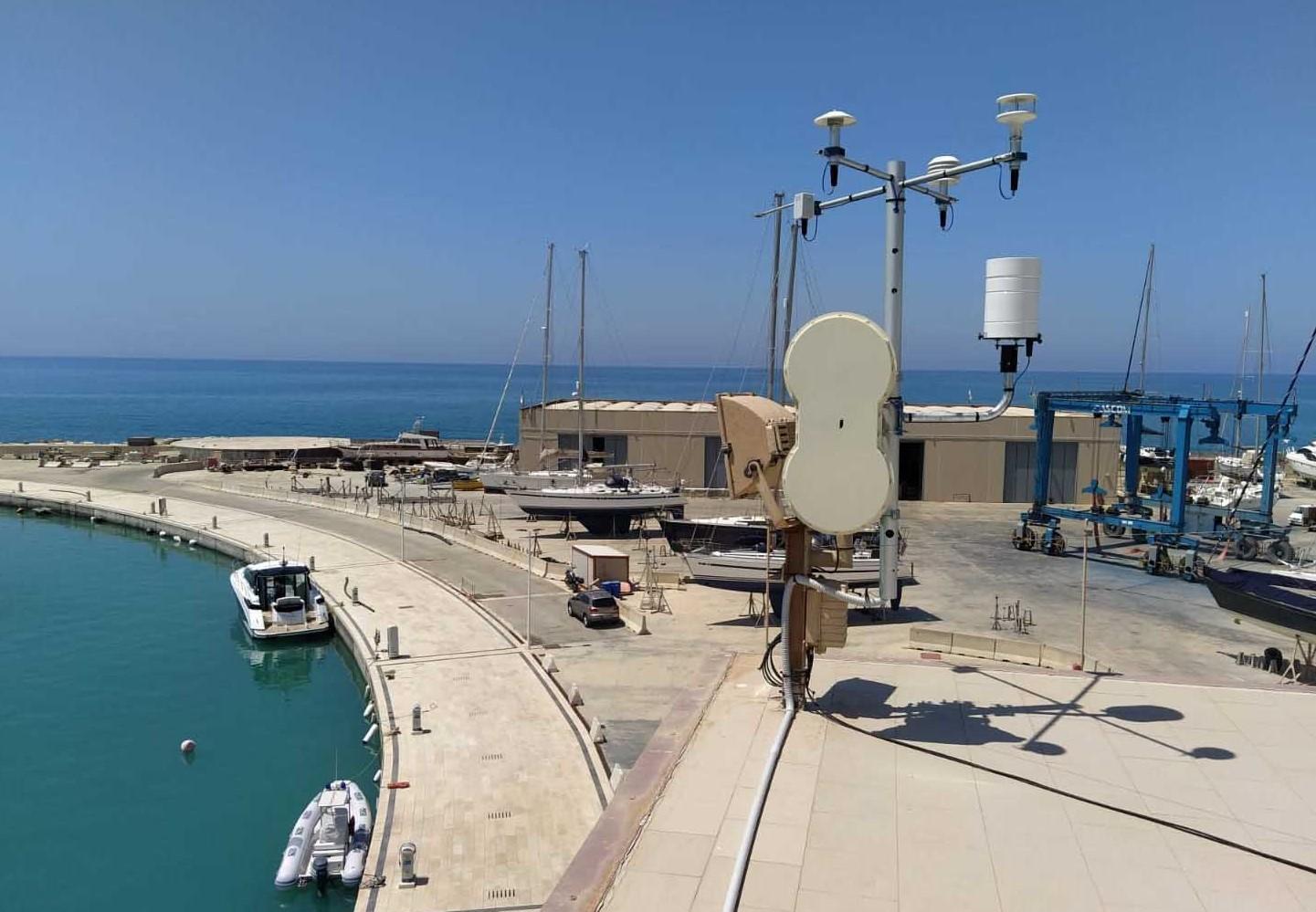 Progetto Italia-Malta: installate antenne radar a Pozzallo e Marina di Ragusa
