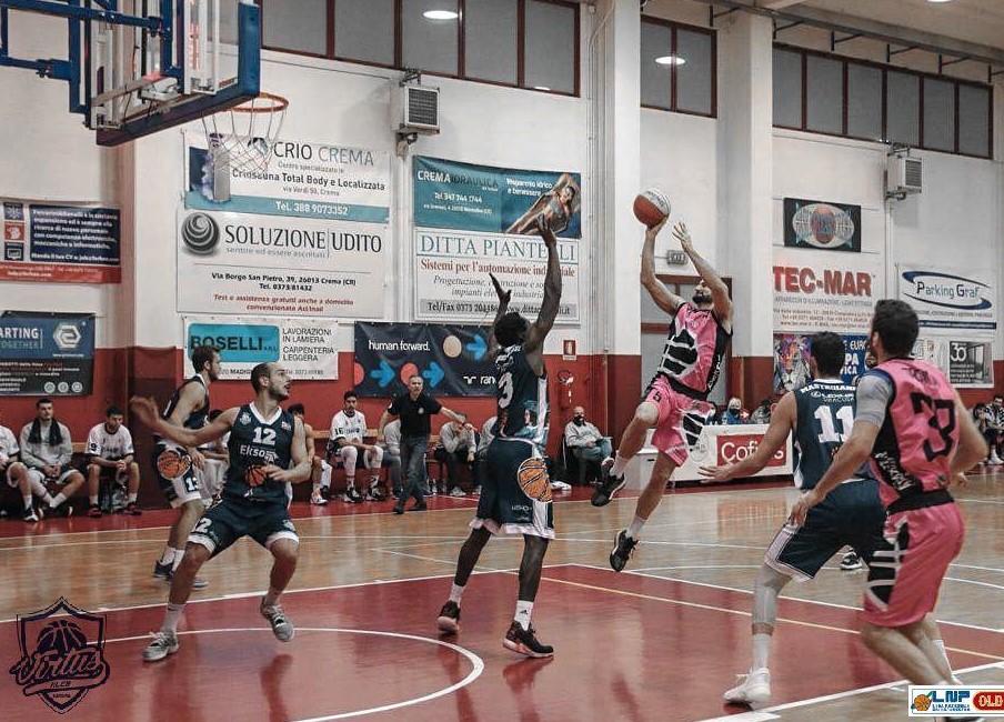 Basket, serie B: la Virtus Kleb Ragusa battuta sul parquet della Pallacanestro Crema