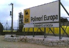 Polietilene, ripresa la produzione allo stabilimento Eni Versalis di Ragusa