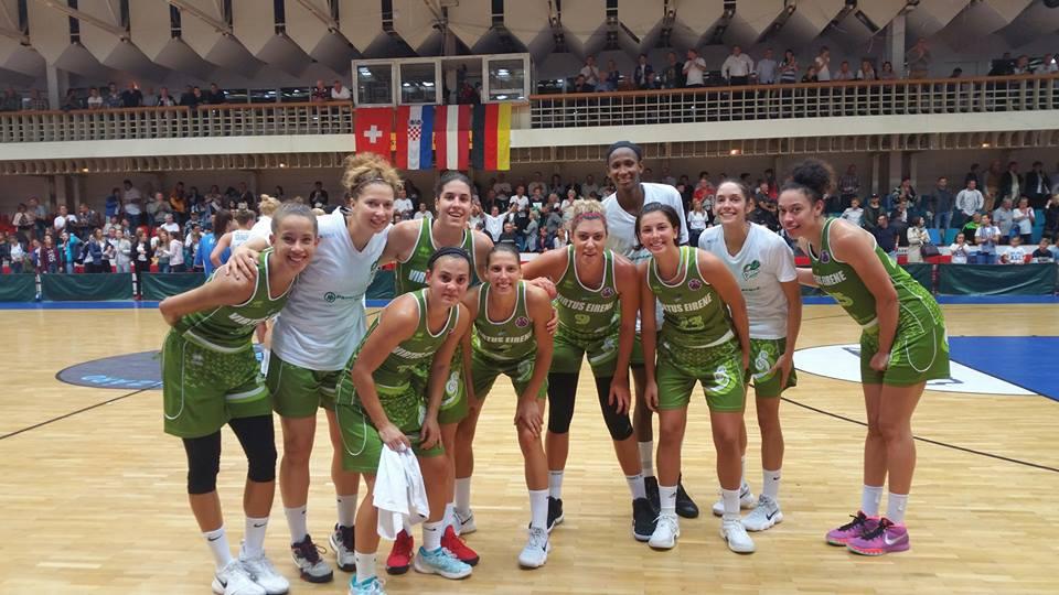 Eurocup, la Passalacqua Ragusa vince al debutto in Ungheria 56-74