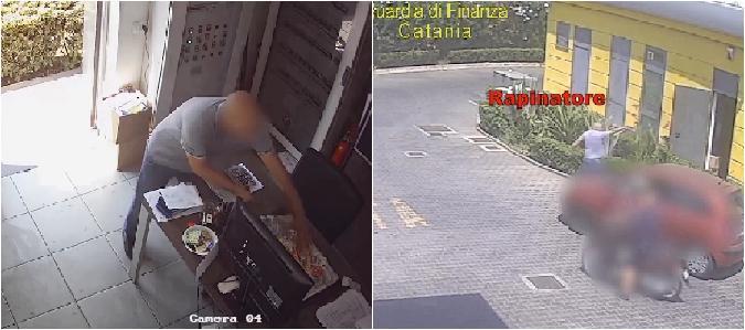 Catania, rapina a impianto di carburanti ad Acquicella: arrestato il bandito