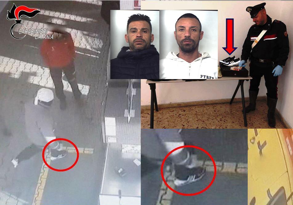 Assaltarono il rifornimento Esso di Aci Catena: in carcere 2 banditi VIDEO