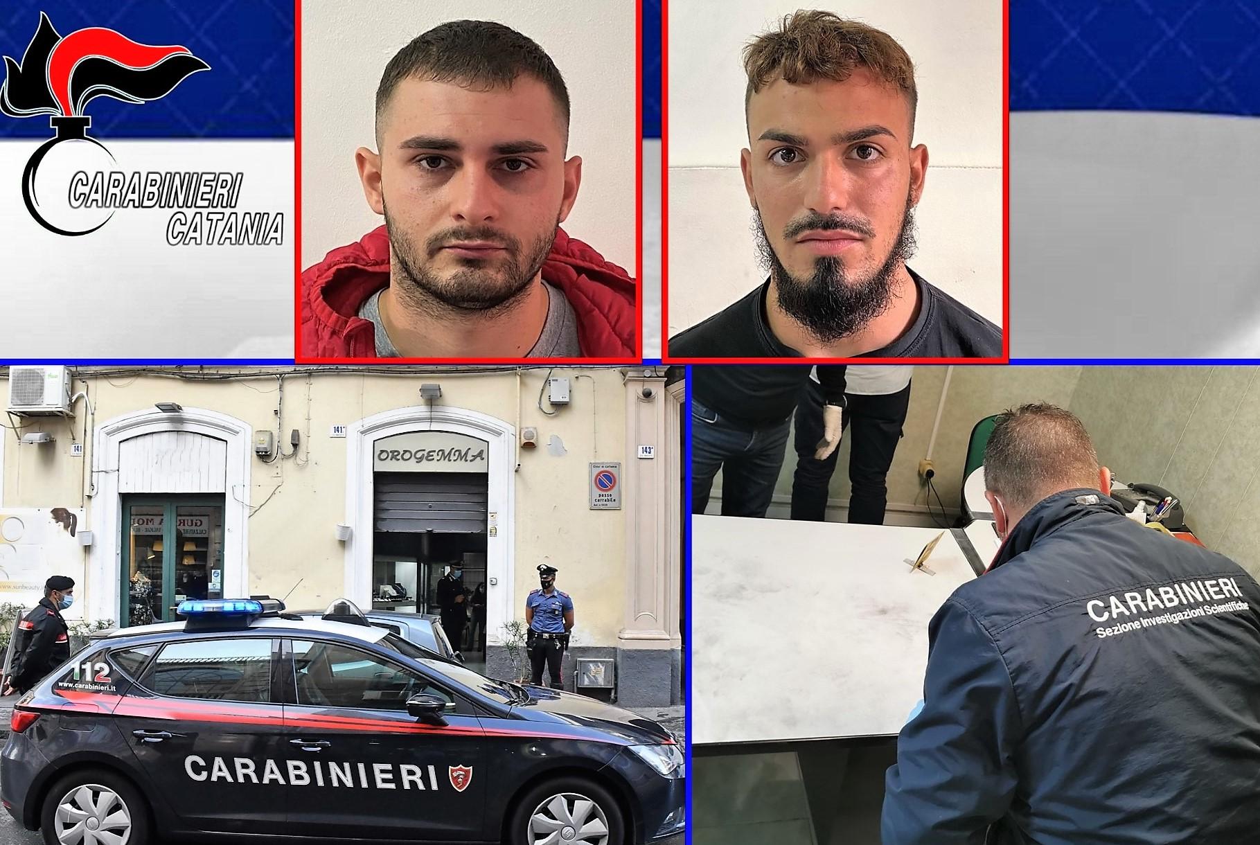 Catania, arrestato anche il secondo rapinatore della gioielleria di via Umberto