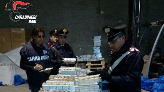 Rapina da un milione ad autotrasportatore: 4 arresti  tra Bari e Foggia
