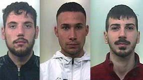 Rapinarono armati di pistola un panificio a Belpasso, tre in carcere