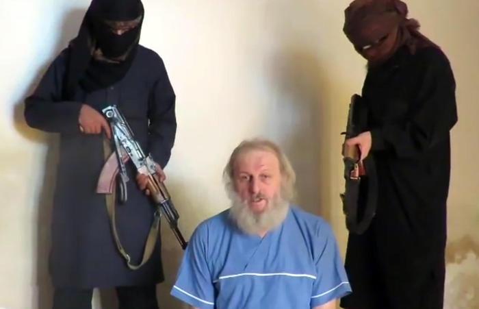 L'italiano rapito in Siria, ricompare un video