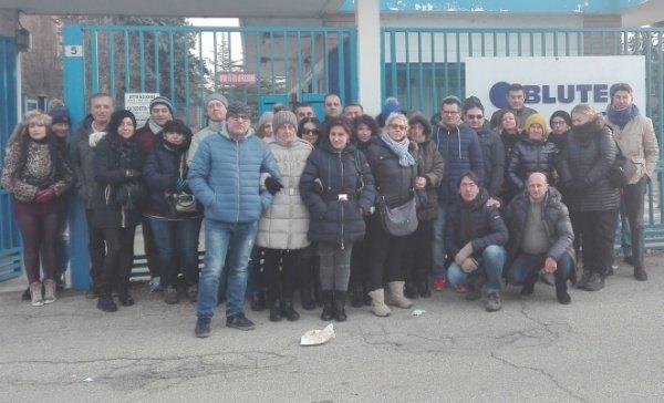 Blutec, sale la tensione tra i lavoratori della fabbrica di Termini Imerese
