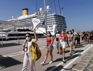 Turismo, ripartono le crociere: arrivata a Siracusa la 'Costa Deliziosa'