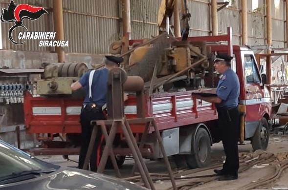 Priolo Gargallo, arrestati dai carabinieri due siracusani accusati di furto