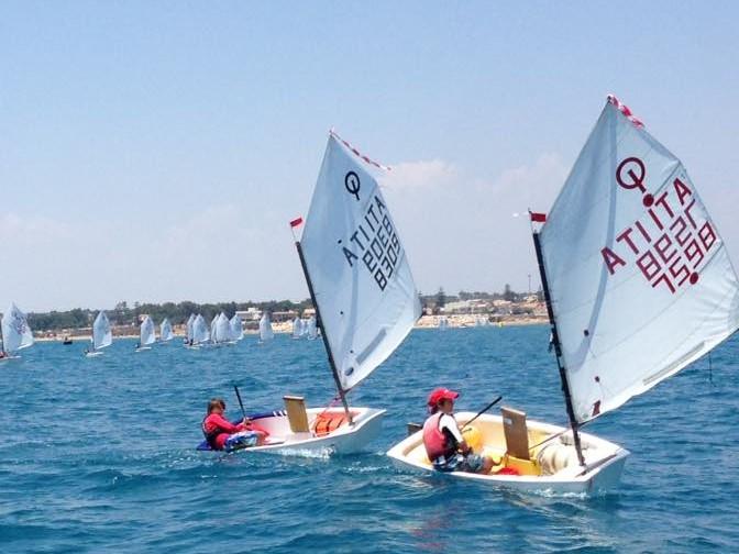 I catanesi protagonisti nella regata del Circolo velico di Kaukana