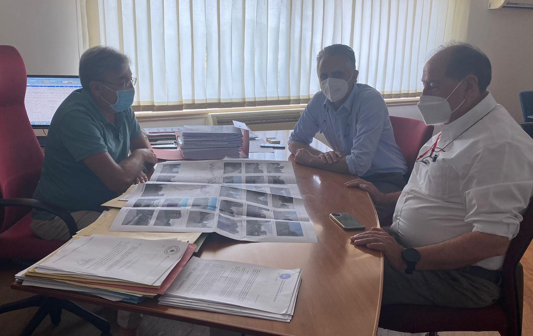 Modica, consegnato alla Regione progetto per lavori nel settore protezione civile
