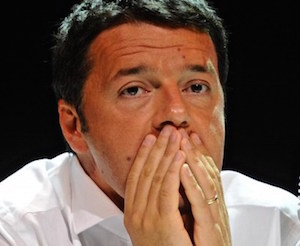 """Referendum, striscioni contro Renzi a Palermo: """"Mandiamolo via"""""""