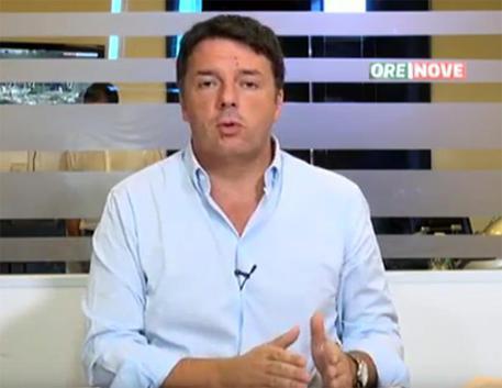 """Pd: Renzi: """"Alleanze tema da ceto politico, parliamo di cose concrete"""""""