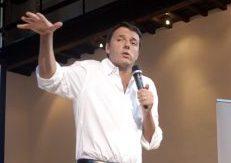 Pd, Renzi chiude il tour ad Augusta: non perdere vocazione industriale
