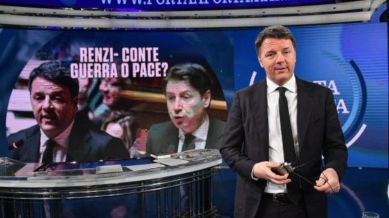 """Governo, Renzi: """"Noi passo indietro se Conte non accetta le  nostre proposte"""""""