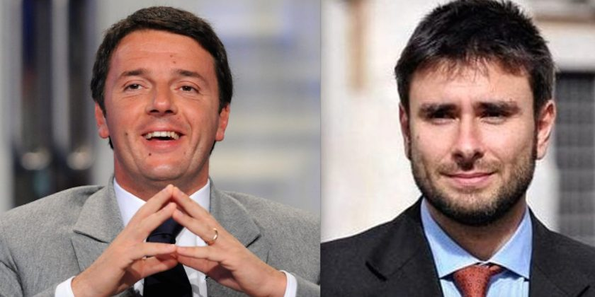 Duello a distanza a Messina  tra Renzi (Pd) e Di Battista (M5s)