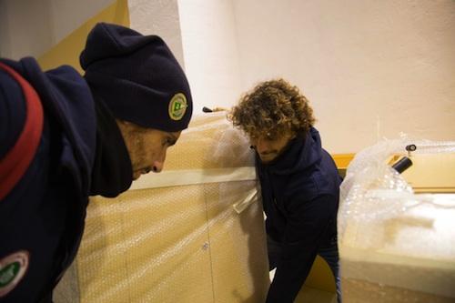 Reperti egizi arrivati nella notte a Siracusa: mostra a Montevergini